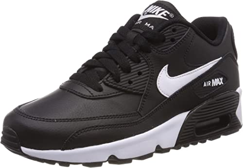 : Nike Air Max 90 Leather BlackWhite Anthracite