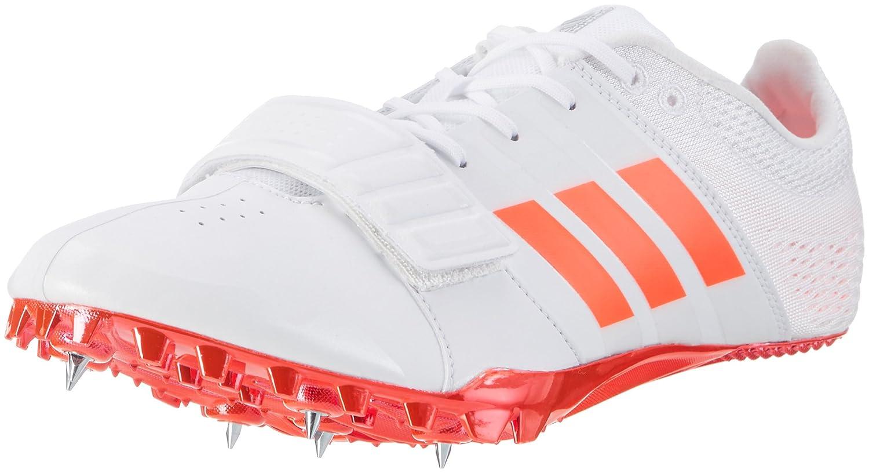 Adidas Adizero Accelerator, Zapatillas de Atletismo Unisex Adulto 48 EU Blanco (Ftw White/Solar Red/ Silver Metallic)