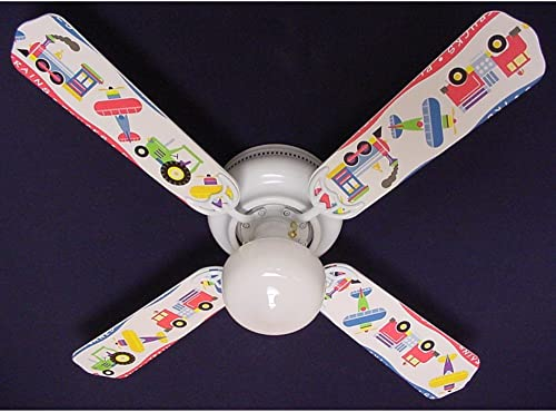 Planes, Trains, Trucks 42 Ceiling Fan