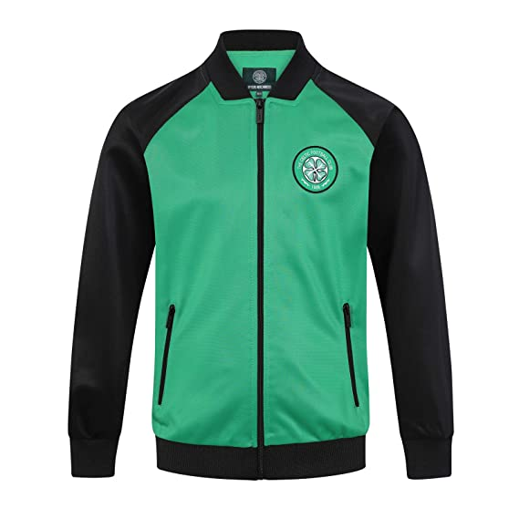 1cf53514cc61e Celtic FC Officiel - Veste de survêtement thème Football - Style rétro -  garçon  Amazon.fr  Vêtements et accessoires