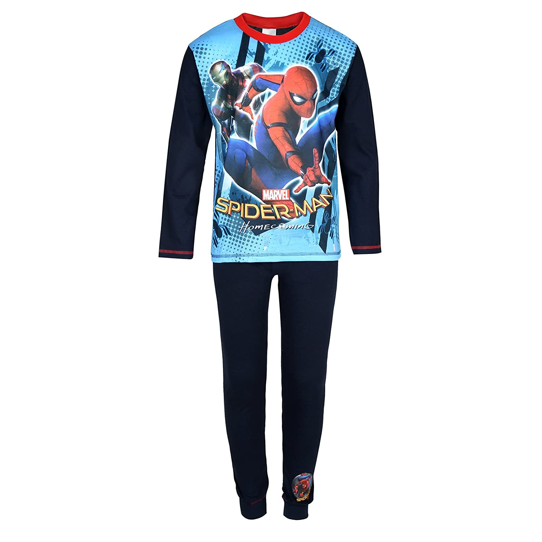 Official Marvel Boys Kids Pyjamas Pjs Pajamas Avengers Spider-Man The Hulk Thor