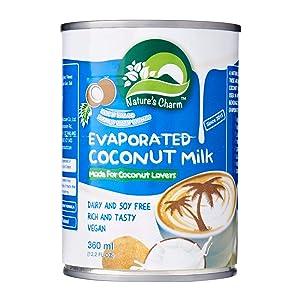 Natcharm Coconut Milk Evaporated, 12.2 oz
