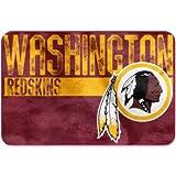The Northwest Company NFL Washington Redskins Embossed Memory Foam Rug One Size Multicolor