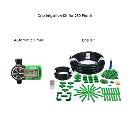 Pepper Agro Drip Irrigation Garden Watering Drip Kit with