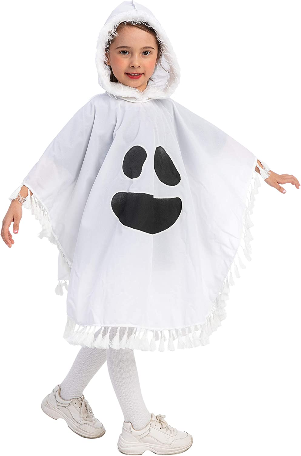 Toddler Kid Baby Girl Halloween Dress Ghost Party Dress Halloween Costume Outfit