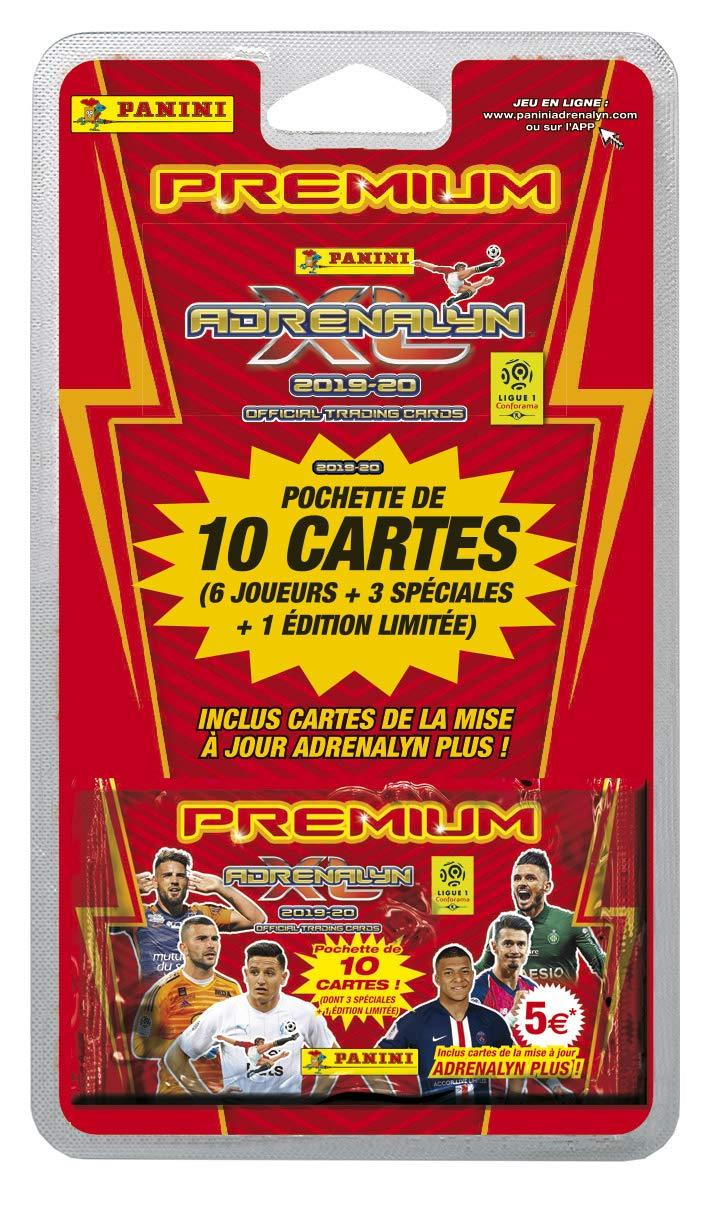 1 Pochette Premium ADRENALYN XL Ligue 1 2019-20 Panini 2526-045