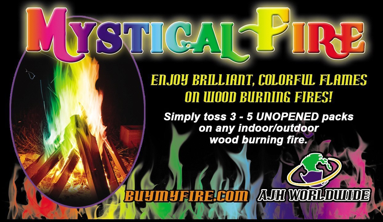 Amazon.com: MYSTICAL FIRE - Adds Colorful flames to a Campfire ...