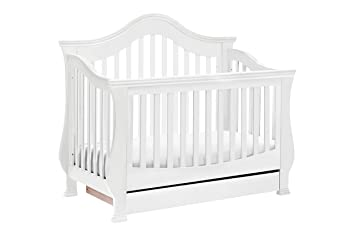 Million Dollar Baby Classic Ashbury 4 In 1 Convertible Crib With Toddler  Bed Conversion
