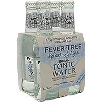 Fever Tree Refreshingly Light Tonic Water, 200ml (Pack of 4)