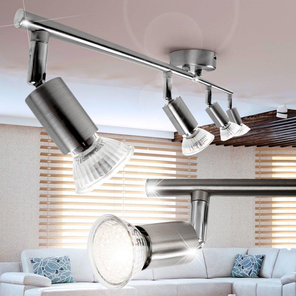 Leuchte Flur Decken Balken Bad Wand Strahler Küchen 60cm Lampe MATRIX 12W LED A