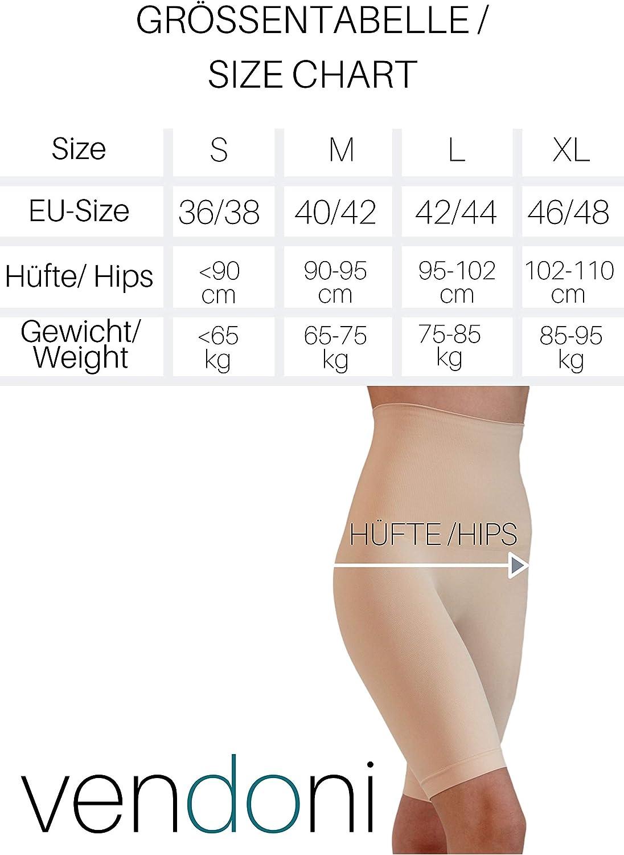 Pantalones de Piel moldeadores para la Figura para el Vientre para la Cintura para Ropa Interior el Pecho y los Muslos Vendoni