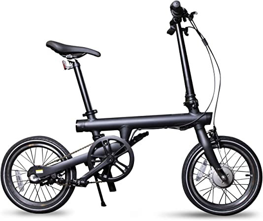 Xiaomi Qicycle - Bicicleta Eléctrica Plegable 250W, Negro: Amazon ...