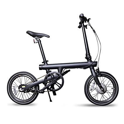 Amazon.com: QiCycle EF1 Smart - Bicicleta eléctrica plegable ...