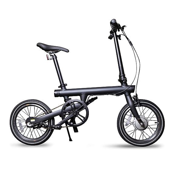 Amazon.com: QiCycle EF1 Smart - Bicicleta eléctrica plegable ...