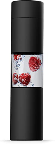 asobu Flavor U See a Stainless Steel Fruit Infuser Slim and Classy Water Bottle 16 Ounce Bpa Free