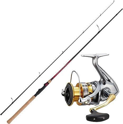 Angel Juego Hecht Spinning Pesca – Shimano caña de pescar con ...