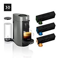 Amazon.com deals on DeLonghi Nespresso Vertuo Plus Coffee and Espresso Machine