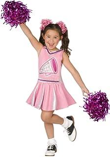 Amazon cheerless leader child costume medium clothing pink cheerleader child costume solutioingenieria Gallery