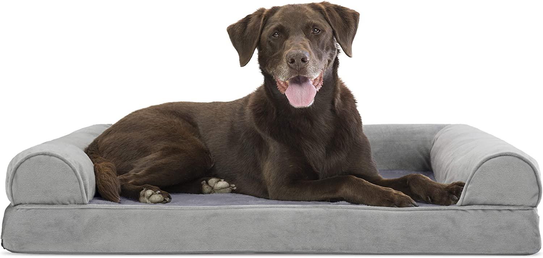 Furhaven Pet - Plush Orthopedic Sofa