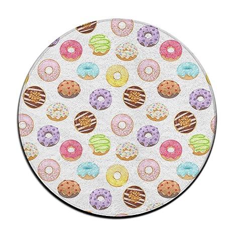 Patrón de Donuts Cojín de Asiento Redondo Antideslizante ...