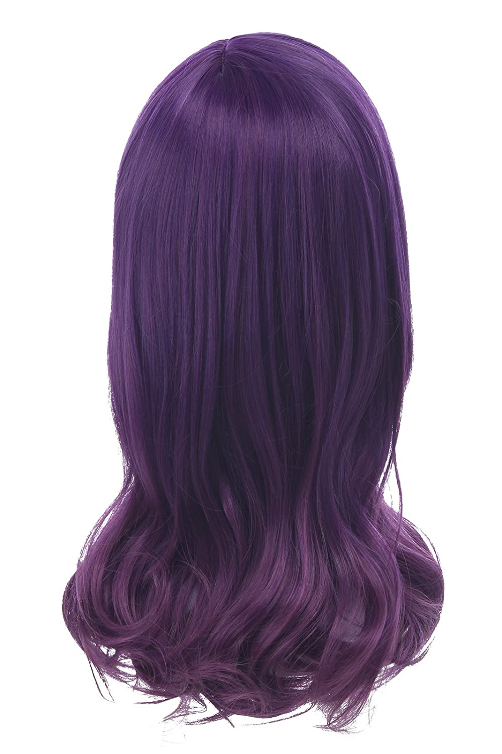 Amazon.com: Nuoqi Anime Sweet Girl Serinuma Kae Purple Curly Wavy Hairs Cosplay Wig ML240: Clothing