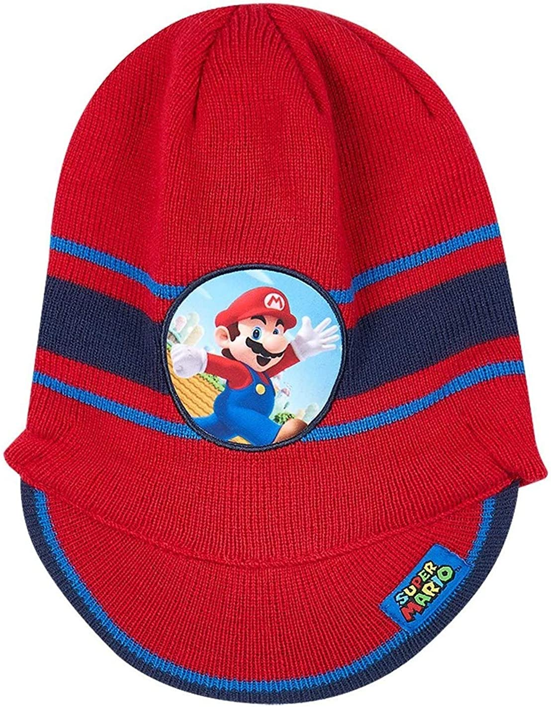 Mario Bros - Gorro - para niño rojo 42/44: Amazon.es: Ropa y ...