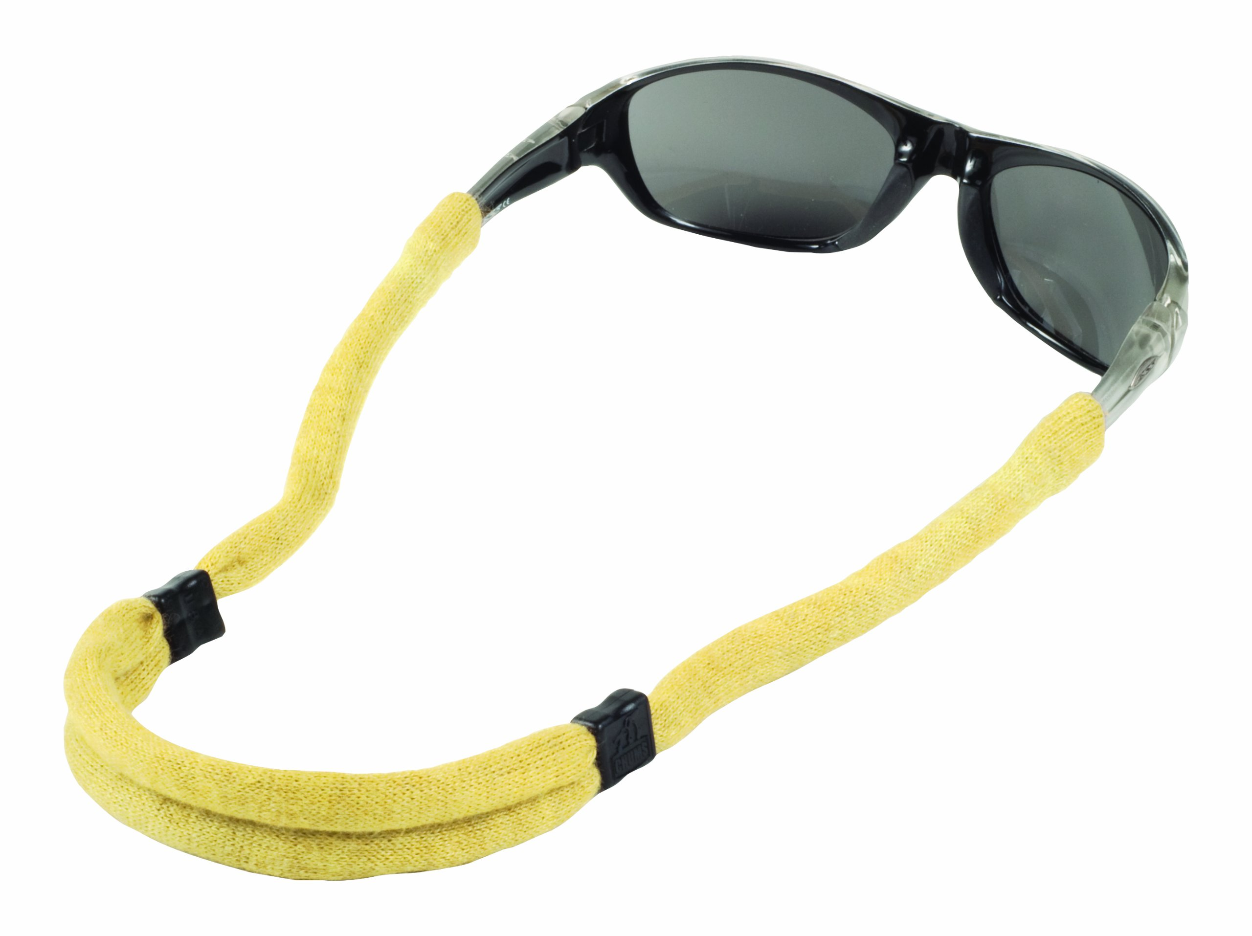 Chums Safety 12405108k Flame Resistant Kevlar No Tail Adjustable Eyewear Retainer, Natural (Pack of 6) by Chums