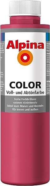 Alpina colores y es tinte de pared Alpina Color rosa 750 ml