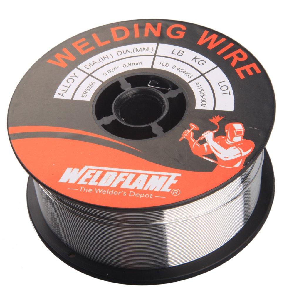 Weldflame ER5356 1-Pound General Purpose Aluminum Welding Wire 0.035 Inch