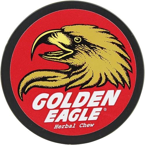 Non-Tobacco Chews Hibiscus Ginger – 1.2 oz, Golden Eagle Herbal Chew