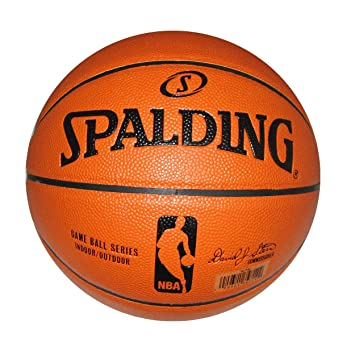 16bb591f2a02 Spalding NBA Replica Composite Indoor Outdoor Basketball - Official Size 7  (29.5 quot )