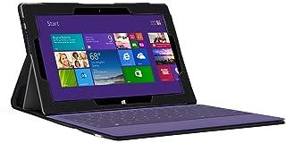 Navitech Custodia/Cover Nera in Ecopelle per Microsoft Surface Pro 2 *non viene con la tastiera*