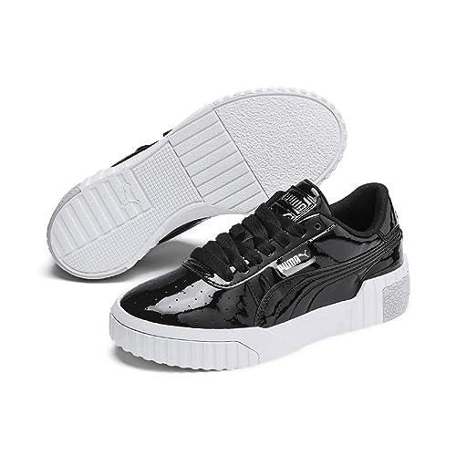 Puma Cali Patent Jr, Baskets Fille: : Chaussures et