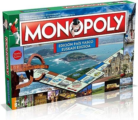 Winning Moves Pais Monopoly País Vasco (81359), multicolor, ninguna (ELEVEN FORCE: Amazon.es: Juguetes y juegos