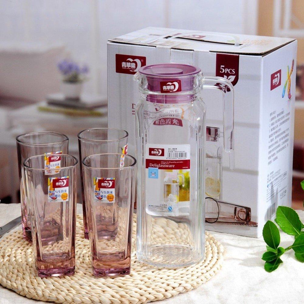 Xwuhan Glas Trinken Ware Kit Hausgebrauch,Office,Teekanne,Kalte Kantine-A