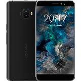Ulefone S8 sim smartphone mobilephone cellphone schermo 5.3 pollici HD In-cell,0.5mm telaio in metallo Android 7.0 doppia telecamera posteriore anteriore Softlight 8MP 2MP CPU MT6580 Quad Core 1.3Ghz 2GB RAM 16GB ROM GPS Dual-Sim GSM WCDMA (Nero)