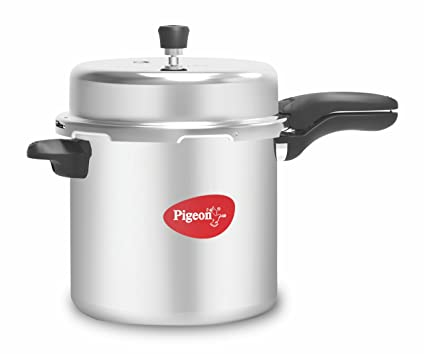526295004c7 Buy Pigeon by Stovekraft Deluxe Aluminium Pressure Cooker