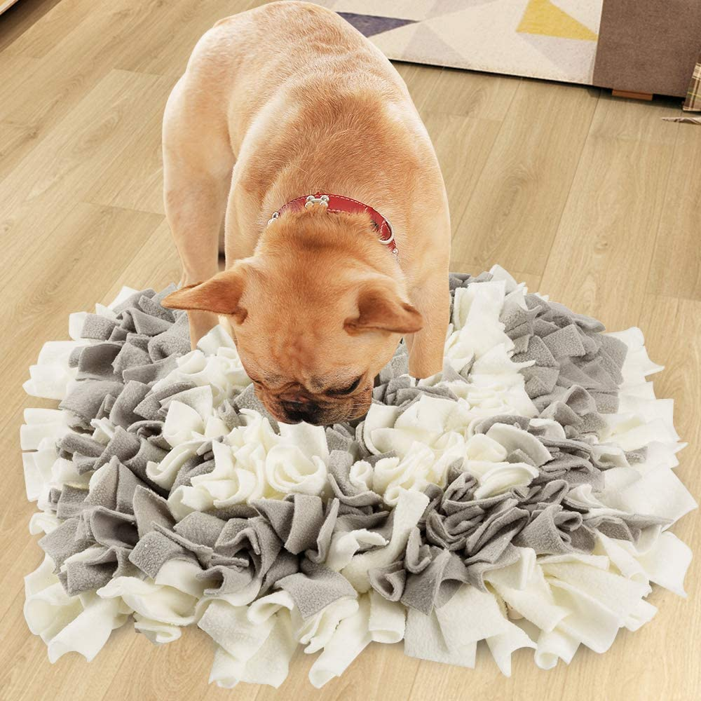 HALOViE Snuffle Mat for Dogs, Interactive Dog Toys Feed Game Brain Stimulating Enrichment Toys for Small Medium Large Dogs Stress Relief