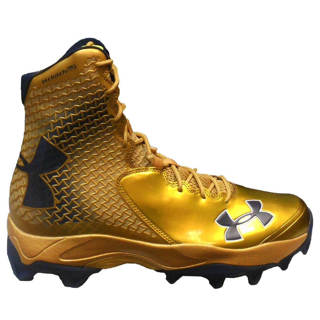 Under Armour メンズ B072F7BMYY 16 D(M) US|Metallic Gold/Metallic Gold/Midnight Navy Metallic Gold/Metallic Gold/Midnight Navy 16 D(M) US