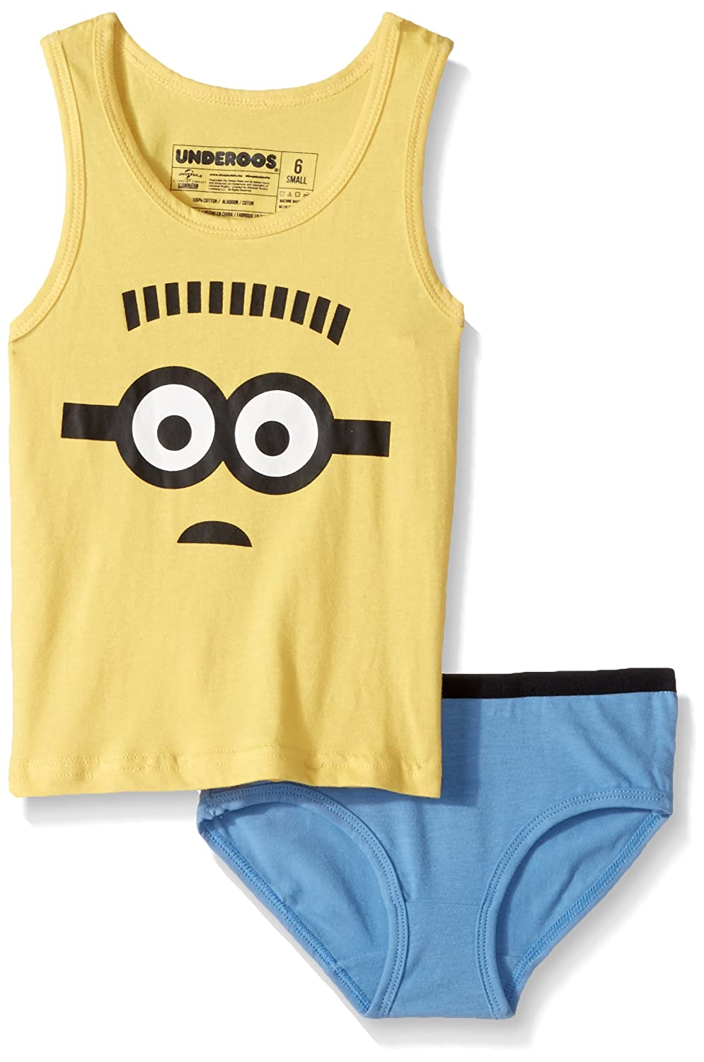 Bioworld Big Despicable Me Girls Underoos T-Shirt and Brief Set