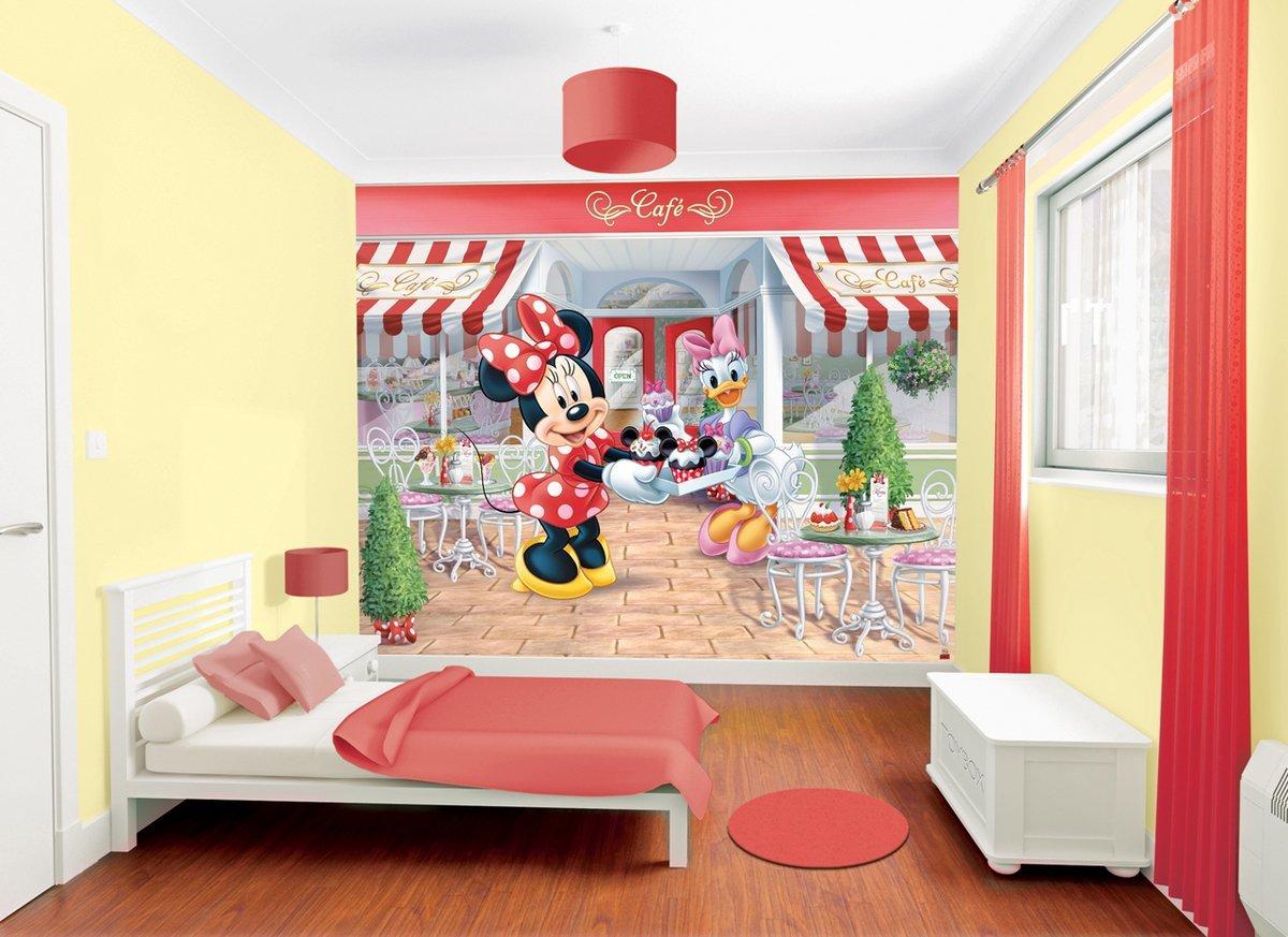 Fototapete - Minnie Maus - Disney: Amazon.de: Baumarkt
