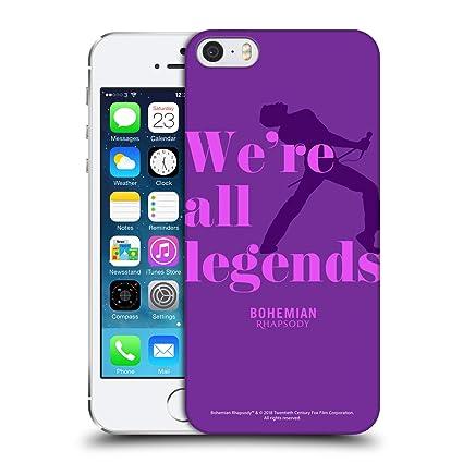 sale retailer bc540 65c0e Amazon.com: Official Queen Legends Bohemian Rhapsody Hard Back Case ...