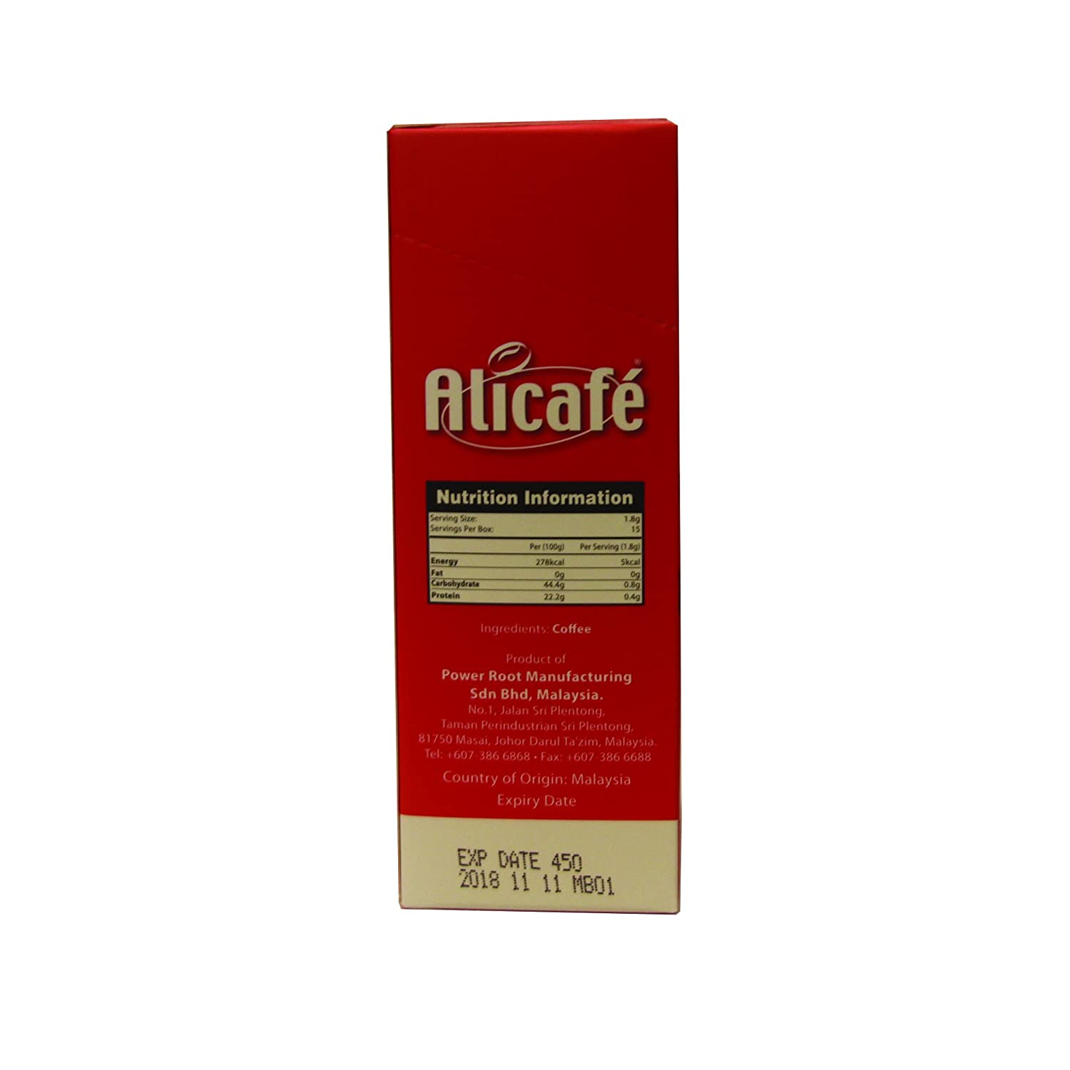 Amazon.com : Alicafe Classic Black Instant Coffee, 3.80oz(108g), 60 Sticks : Grocery & Gourmet Food