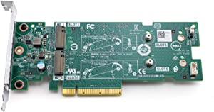 Dell Dual M.2 Slot NVMe SSD PCIe Boss Controller Adapter Card LP (K4D64)