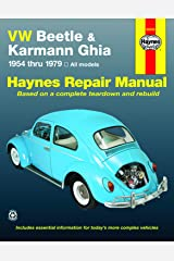 VW Beetle & Karmann Ghia 1954 through 1979 All Models (Haynes Repair Manual) Paperback