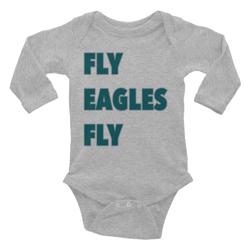 Fly Eagles Fly -Philadelphia Eagles Infant Long Sleeve Bodysuit i want that shirt