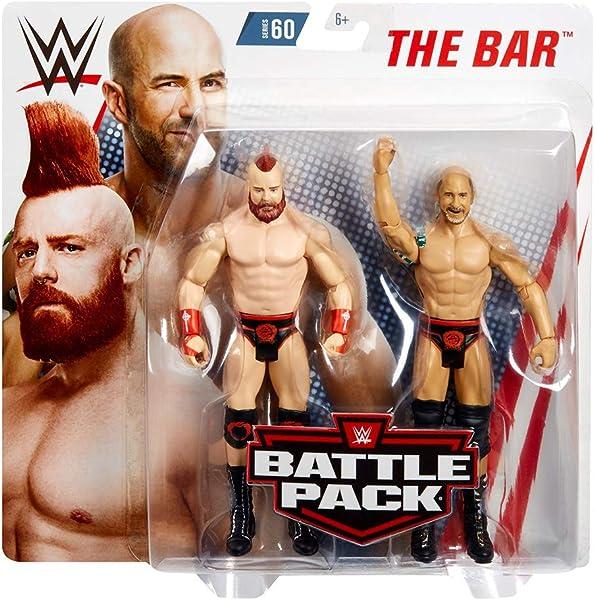 WWE The Bar Battle Pack 2pk