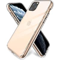 iPhone 11 Pro Case Clear [Support Wireless Charging], ProCase Shockproof Slim Crystal Protective Cushion Cover with Flexible TPU+ Hard PC Hybrid Cover for Apple iPhone 11 Pro 5.8 inch 2019 -Clear
