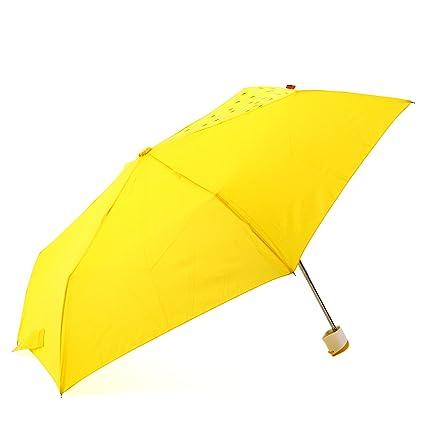OFESS (Ofesu) paraguas plegable diferencia mano OFF-CENTA AMARILLO 010044YE (jap?
