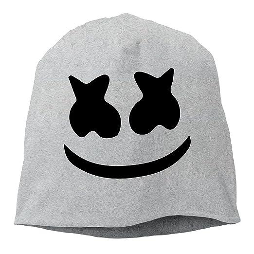 15d47279127 Unisex Beanie Hat Marshmello Face Skull Cap In 6 Colors at Amazon Men s  Clothing store